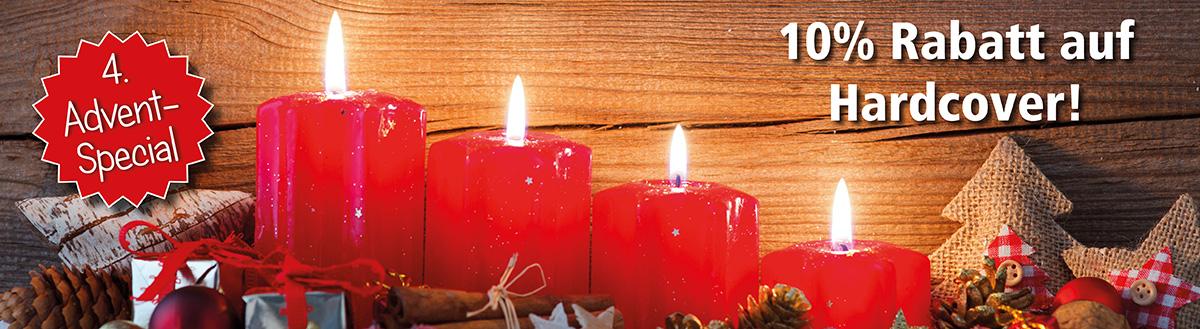 4. Advent-Special: 10% Rabatt auf Hardcover (abgelaufen)
