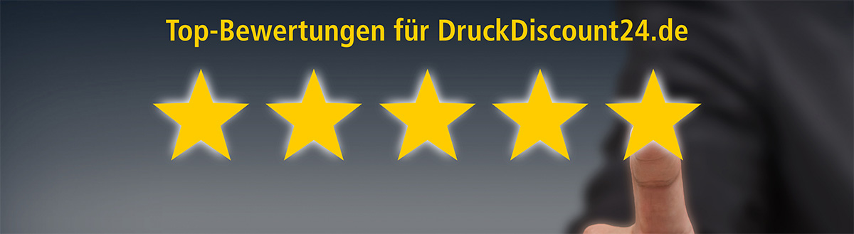 Top-Bewertungen für DruckDiscount24.de