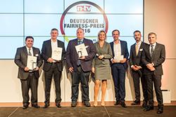 Die Preisträger der Online-Druckereien (Foto: Thomas Ecke / DISQ / n-tv)