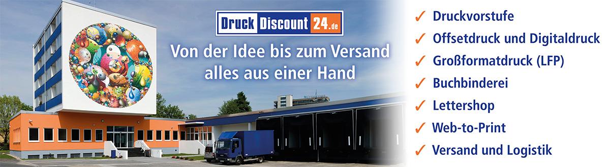 DruckDiscount24.de: Von der Idee bis zum Versand alles aus einer Hand