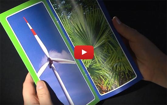 Video: Wie Sie Broschüren drucken (Rückendrahtheftung)