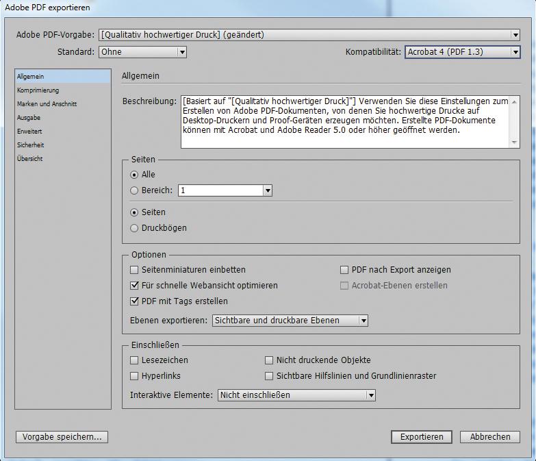 Wie Funktioniert Die Datenausgabe Mit Indesign Faq