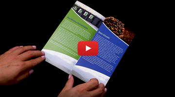 Video: Wie Sie Folder mit Wickelfalz drucken
