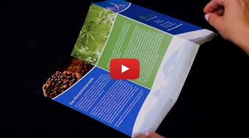 Video: Wie Sie Folder mit Zick-Zack-Falz (Leporello) drucken