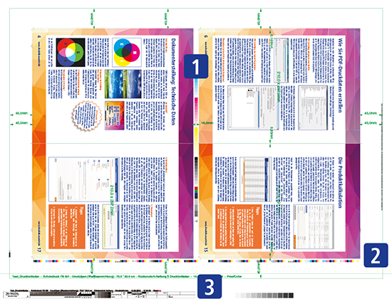 Plattenstandbogen mit den zusätzlichen Elementen