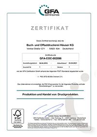 FSC®-Zertifizierung
