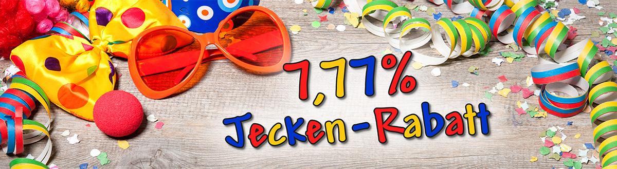 Nutzen Sie an Karneval unseren 10% Jecken-Rabatt und sparen Sie beim Druck (abgelaufen)!