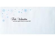 Kuvert für Weihnachten