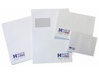 Briefhüllen in verschiedenen Formaten