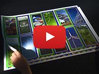 Video: Wie Sie Druckbogen drucken (unbeschnitten)