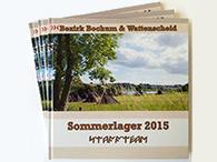 Jahrbücher als Hardcover in 21 x 21 cm (DPSG Bochum & Wattenscheid)