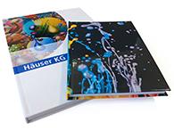 Abibücher und Notizbücher als Hardcover in DIN A4 und DIN A5