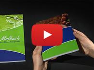 Video: Wie Sie Klebebindungen drucken