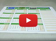 Video: Wie Sie Plakate drucken (DIN A3, A2, A1, A0)