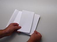 Portosparer als Selfmailer: 16 Seiten Inhalt mit 4 Seiten Umschlag und 2 Seiten Antwortkarte