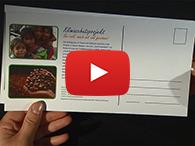Video: Wie Sie Postkarten drucken