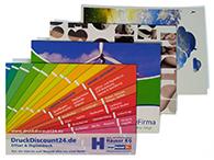 Verschiedene Briefkarten in DIN A6