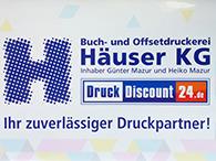 Adressaufkleber mit unserem Logo
