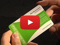 Video: Wie Sie Visitenkarten drucken