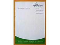 Geschäftsbögen auf 90g Laser-Offset-Papier