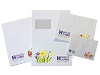 Briefhüllen zu Ostern in verschiedenen Formaten