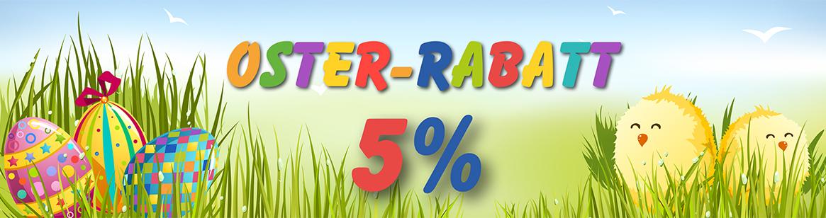 Frohe Ostern wünscht Ihnen DruckDiscount24.de mit 5% Oster-Rabatt!