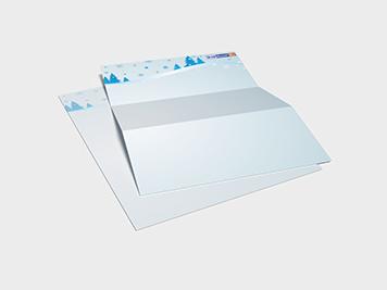 Weihnachtsbriefpapier drucken