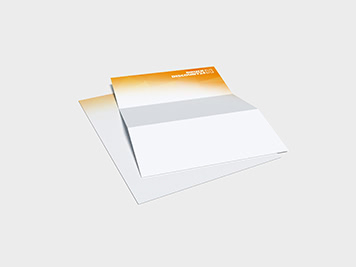 Drucken Sie Ihre Briefbogen günstig online