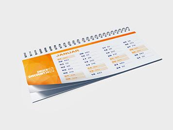 Drucken Sie Ihre Tischplaner günstig online