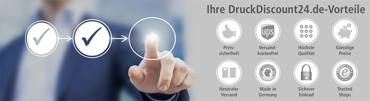 Ihre DruckDiscount24.de-Vorteile