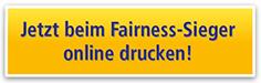 Jetzt beim Fairness-Sieger online drucken!
