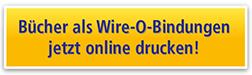 Bücher als Wire-O-Bindungen jetzt online drucken!