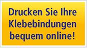 Drucken Sie Ihre Klebebindungen bequem online!