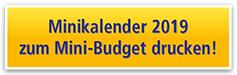 Minikalender 2019 zum Mini-Budget drucken!