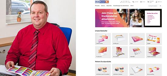 Heiko Mazur, Geschäftsführer DruckDiscount24.de, Buch- und Offsetdruckerei Häuser KG