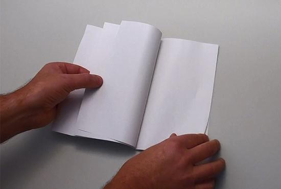 Dünndruckpapier beim Portosparer