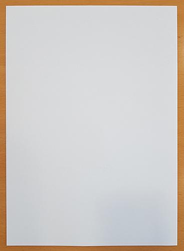 Bankpostpapier als Briefbogen mit Wasserzeichen, hier im unteren Bereich